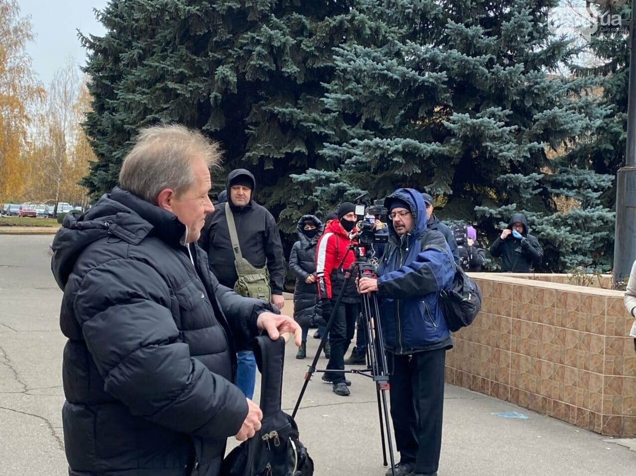 Представители малого бизнеса продолжили протест возле мэрии Кривого Рога, - ФОТО, ВИДЕО, фото-14