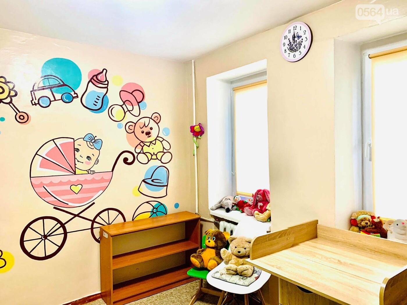 За підтримки компанії Метінвест в університетах Кривого Рогу відкривають кімнати матері та дитини, фото-1