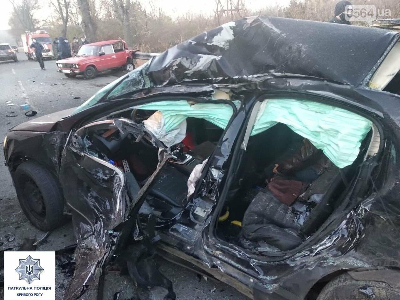 Volkswagen не выбрал безопасную скорость, - в полиции уточнили обстоятельства смертельного ДТП в Кривом Роге, - ФОТО, фото-2
