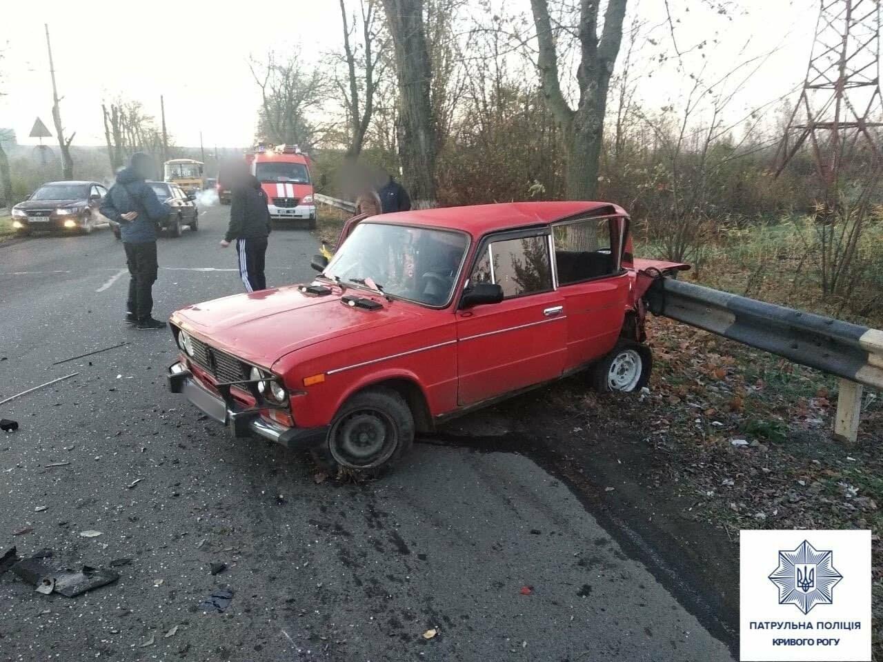Volkswagen не выбрал безопасную скорость, - в полиции уточнили обстоятельства смертельного ДТП в Кривом Роге, - ФОТО, фото-3
