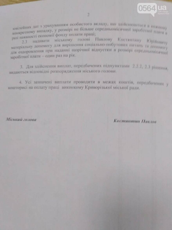 Депутаты проголосовали за назначение оклада и надбавок новому мэру Кривого Рога, - ФОТО , фото-2