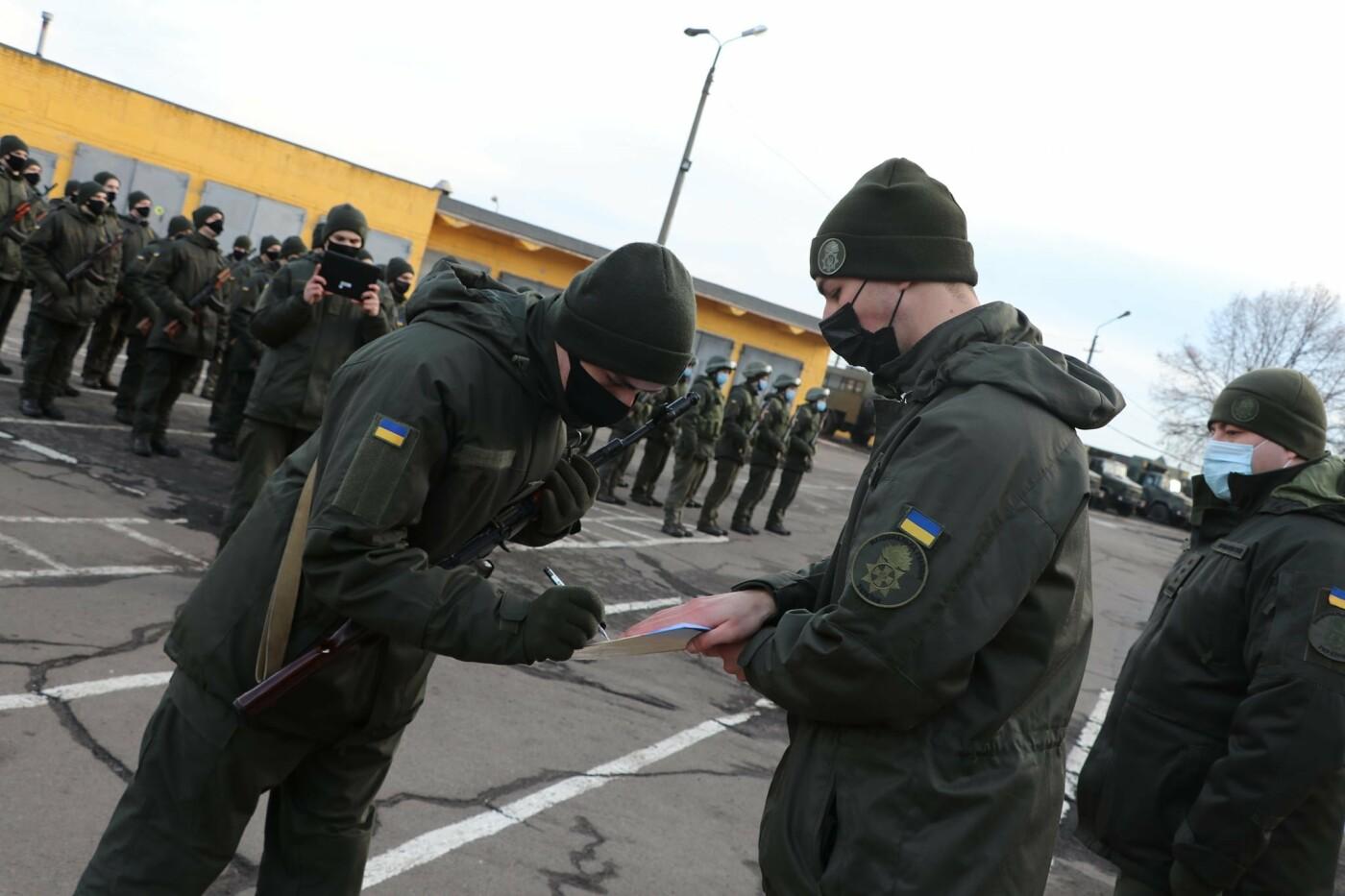 В Криворожской бригаде 46 военнослужащих присягнули на верность украинскому народу, - ФОТО, ВИДЕО , фото-7