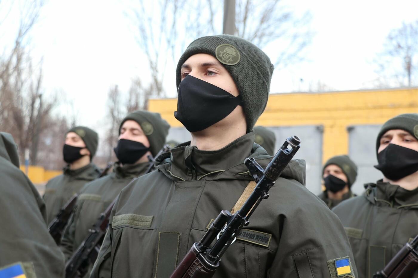 В Криворожской бригаде 46 военнослужащих присягнули на верность украинскому народу, - ФОТО, ВИДЕО , фото-19
