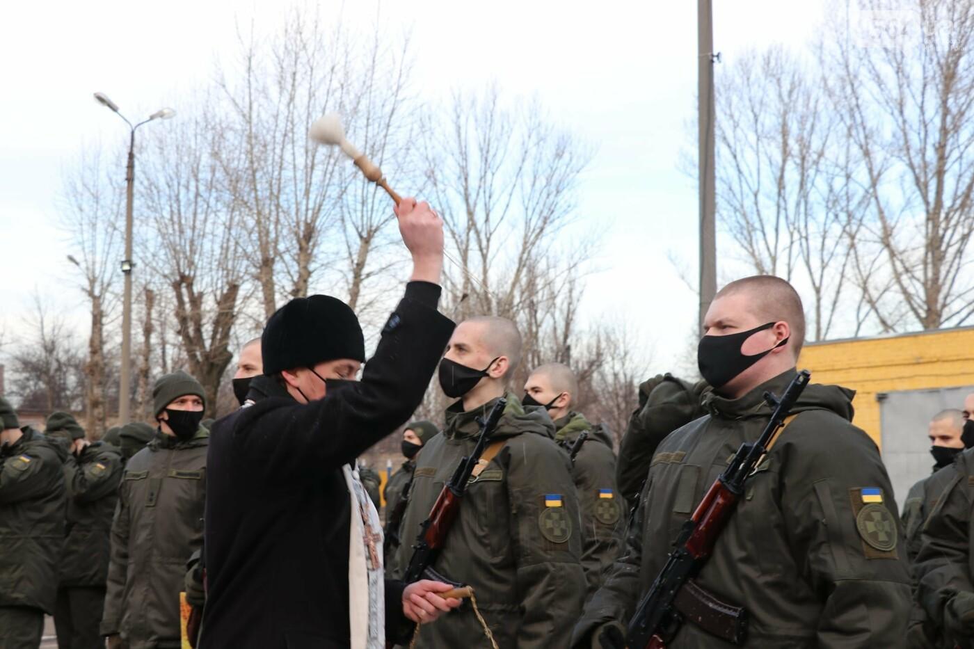 В Криворожской бригаде 46 военнослужащих присягнули на верность украинскому народу, - ФОТО, ВИДЕО , фото-15