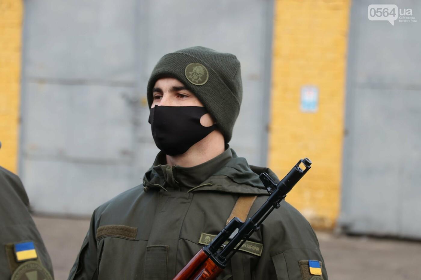 В Криворожской бригаде 46 военнослужащих присягнули на верность украинскому народу, - ФОТО, ВИДЕО , фото-17