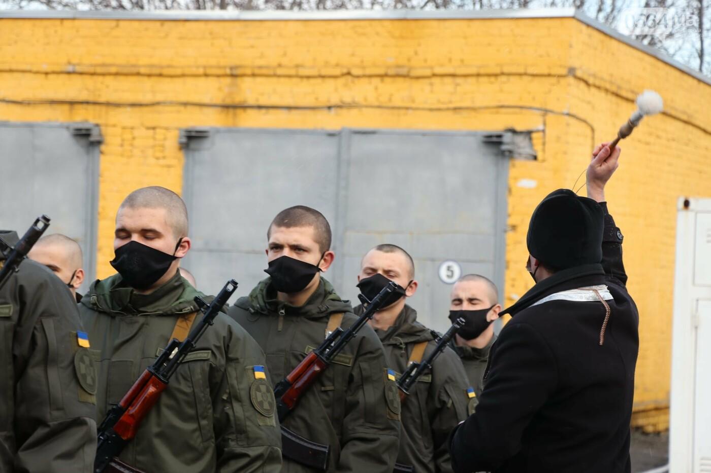 В Криворожской бригаде 46 военнослужащих присягнули на верность украинскому народу, - ФОТО, ВИДЕО , фото-14