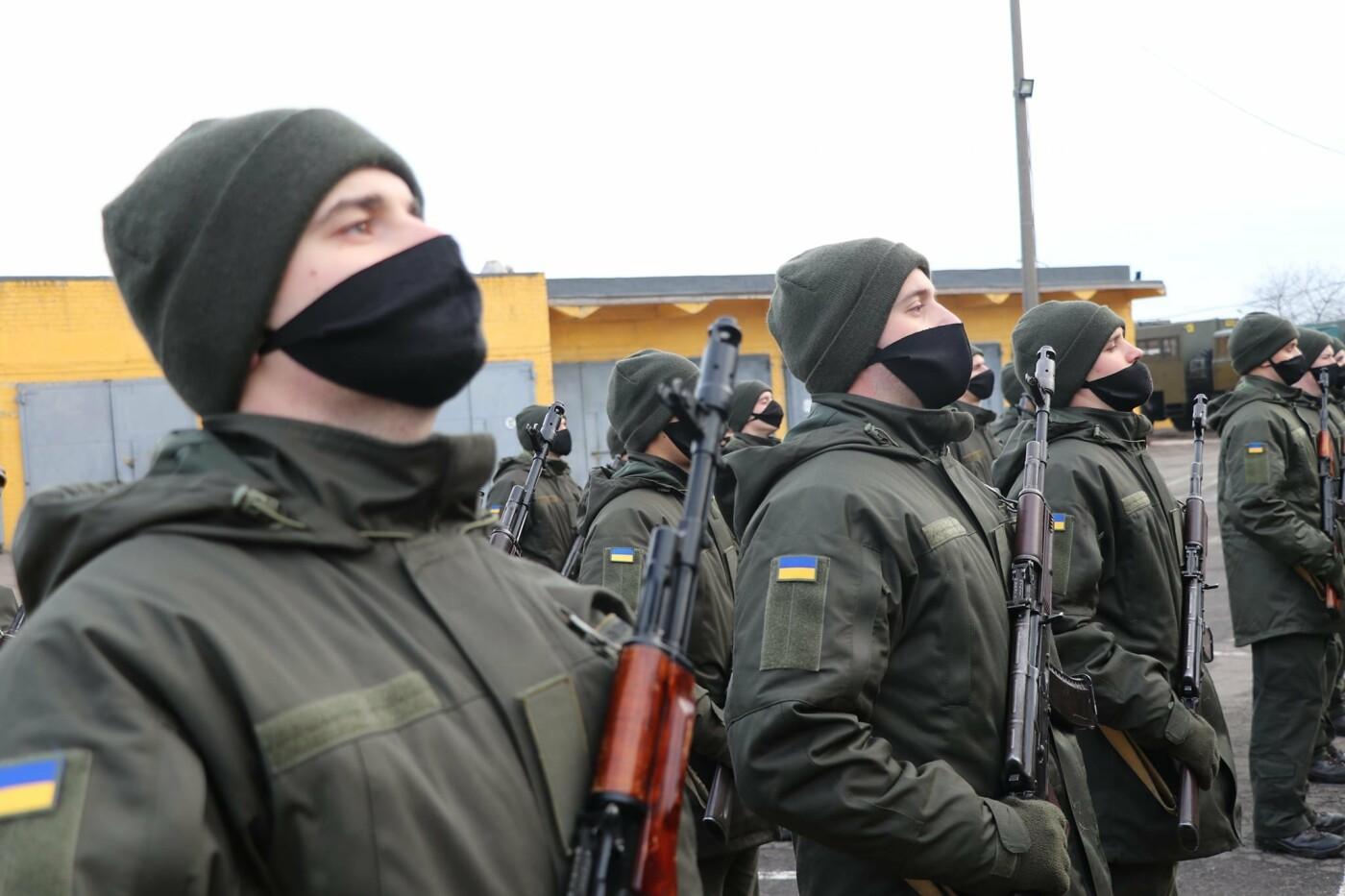 В Криворожской бригаде 46 военнослужащих присягнули на верность украинскому народу, - ФОТО, ВИДЕО , фото-23