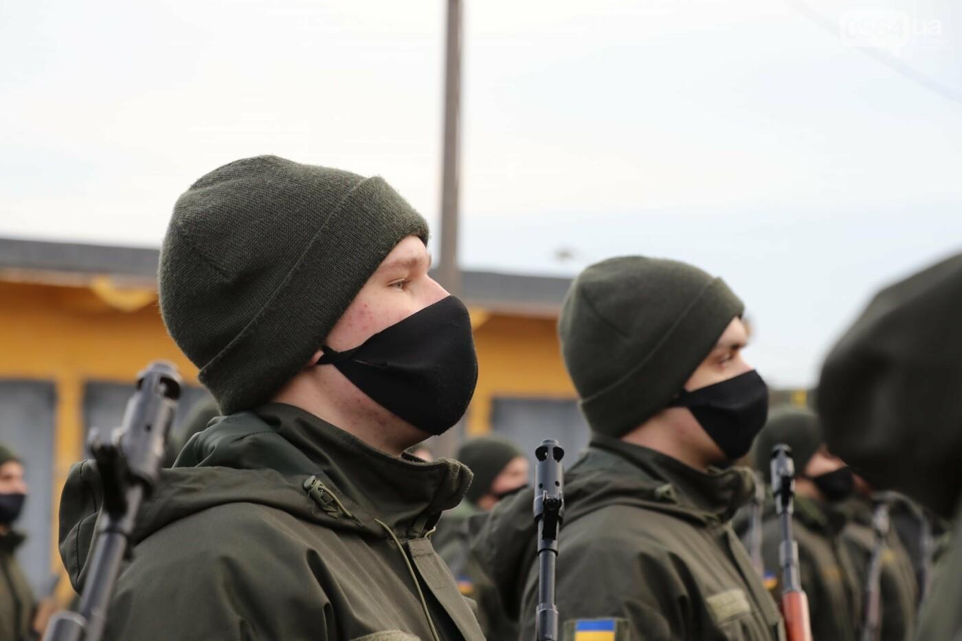 В Криворожской бригаде 46 военнослужащих присягнули на верность украинскому народу, - ФОТО, ВИДЕО , фото-22