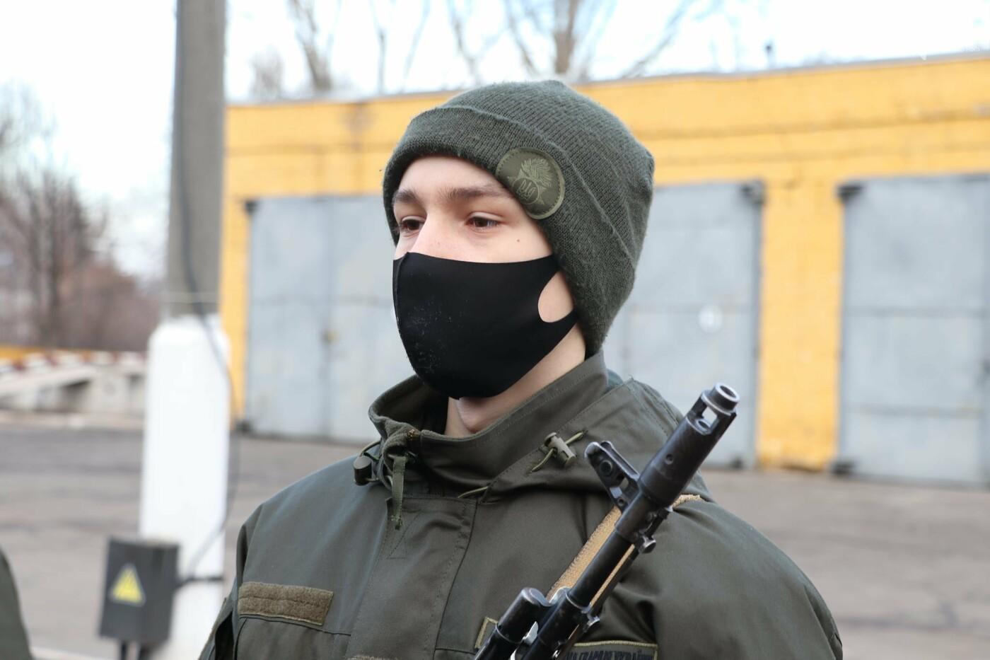 В Криворожской бригаде 46 военнослужащих присягнули на верность украинскому народу, - ФОТО, ВИДЕО , фото-20