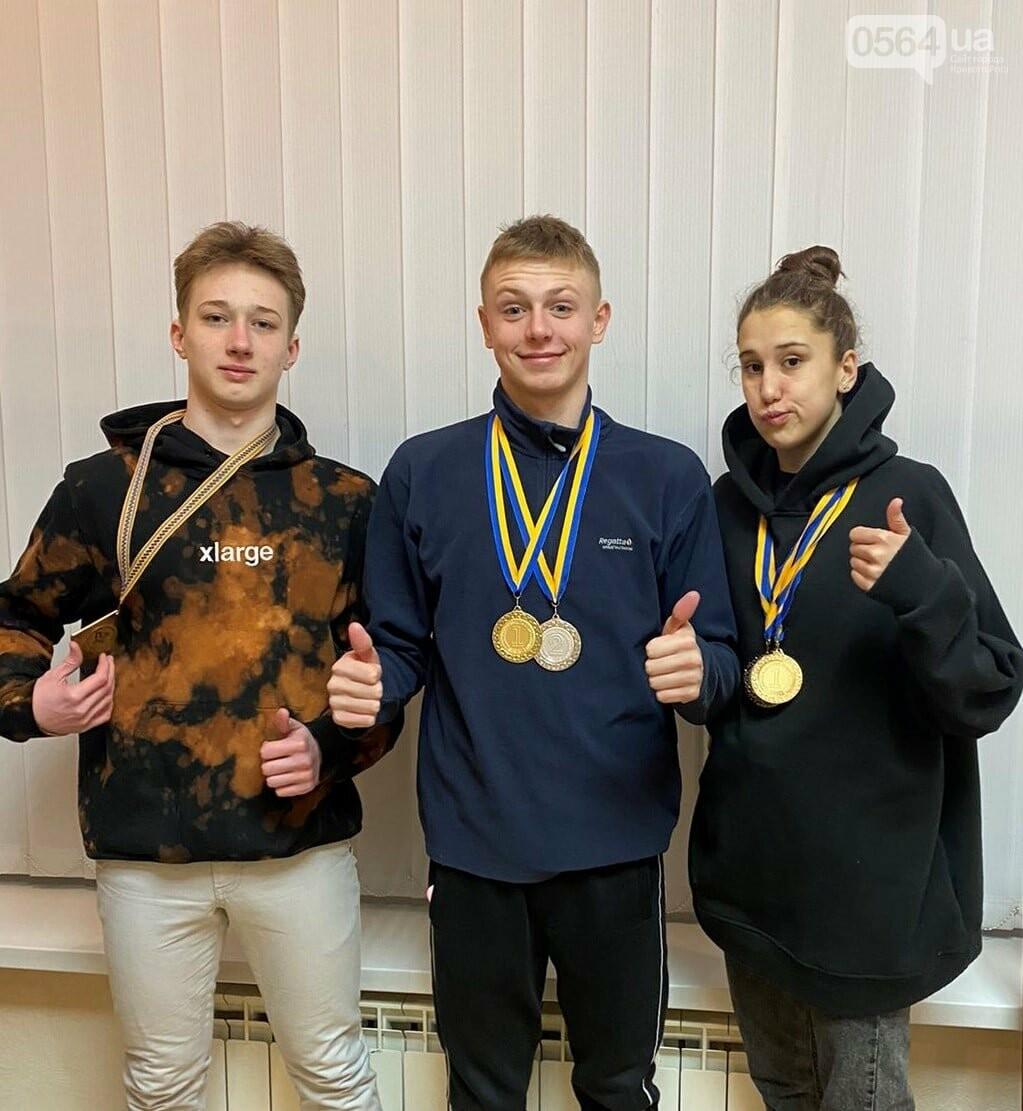 Криворожские пловцы привезли с Зимнего чемпионата Украины 6 медалей, - ФОТО , фото-1