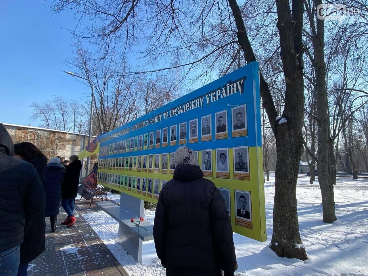 В 6 годовщину Дебальцевской трагедии криворожане почтили память погибших Героев, - ФОТО, ВИДЕО , фото-7