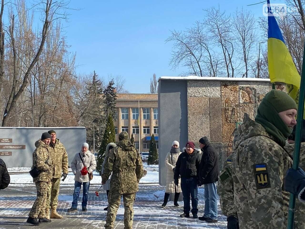 В 6 годовщину Дебальцевской трагедии криворожане почтили память погибших Героев, - ФОТО, ВИДЕО , фото-9