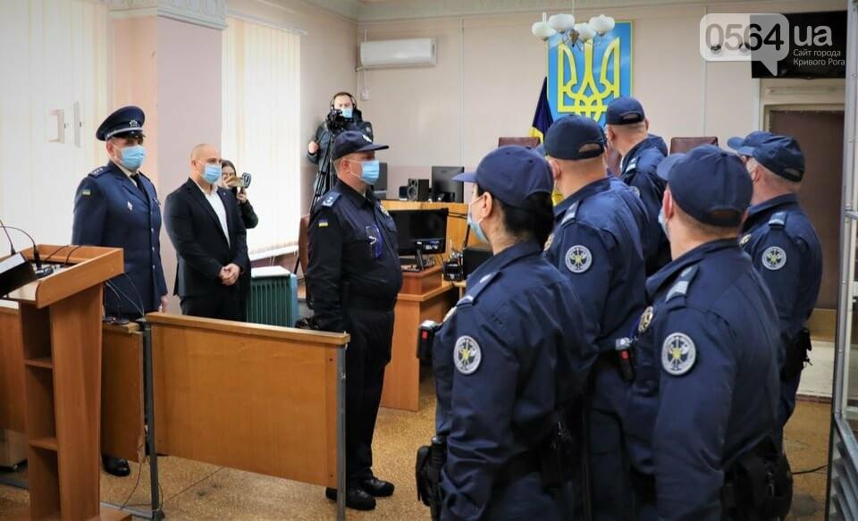 Саксаганский райсуд Кривого Рога сегодня взяли под охрану сотрудники ССО, - ФОТО, фото-6