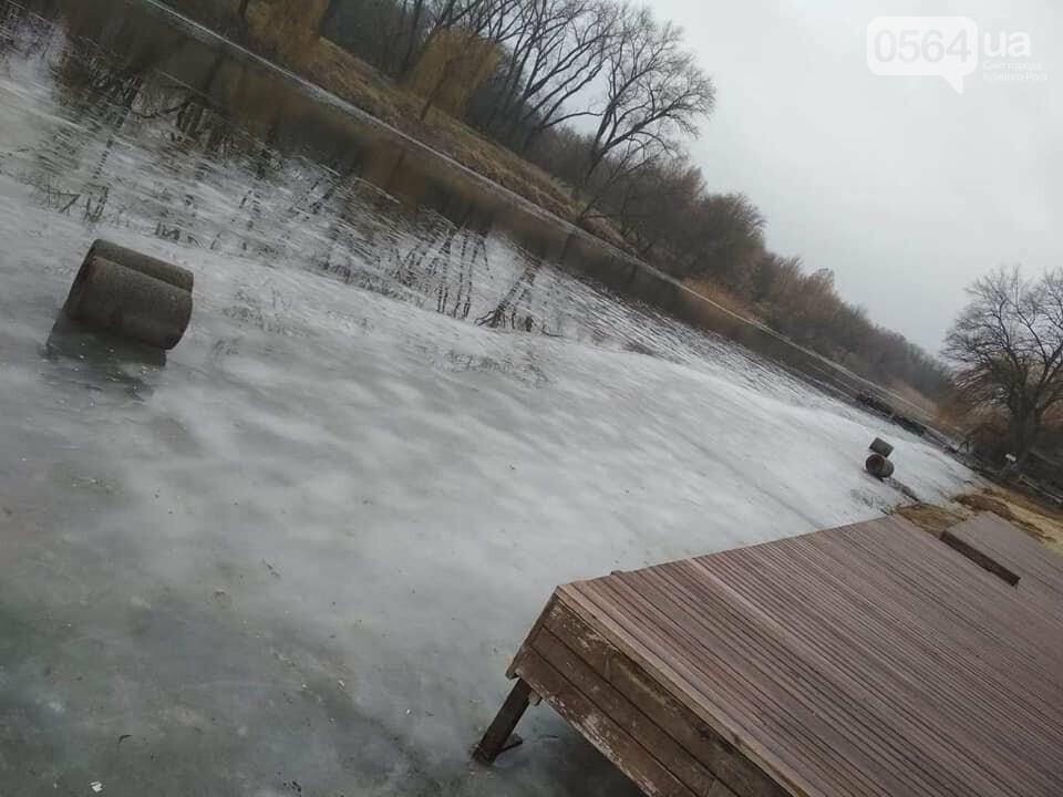 Выбросили 14 урн в реку, сожгли камыш, разобрали тротуарную плитку: в криворожском парке орудовали вандалы, - ФОТО , фото-2