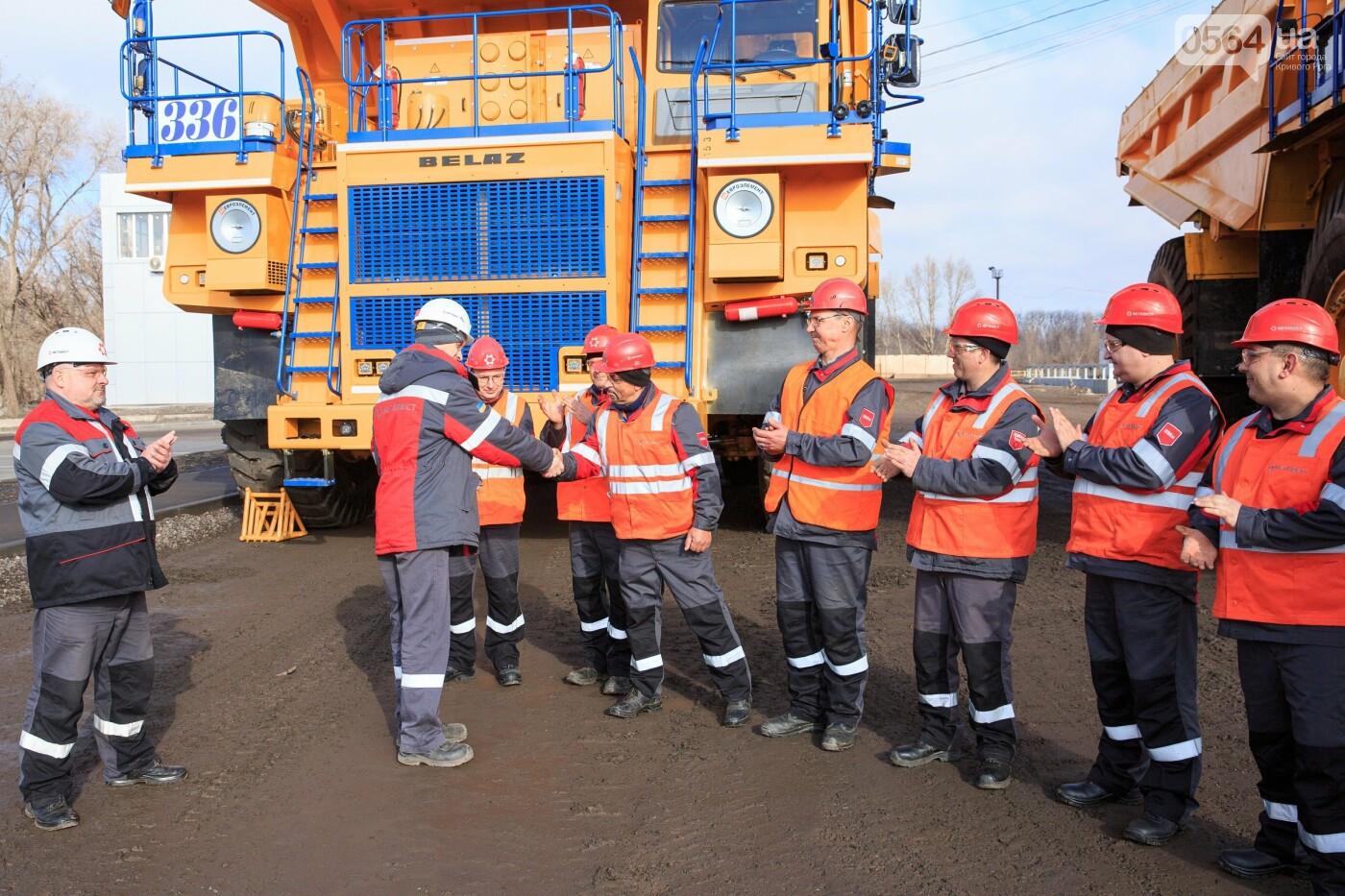 ЦГОК приобрел новые автосамосвалы для работы в Глееватском карьере, фото-2
