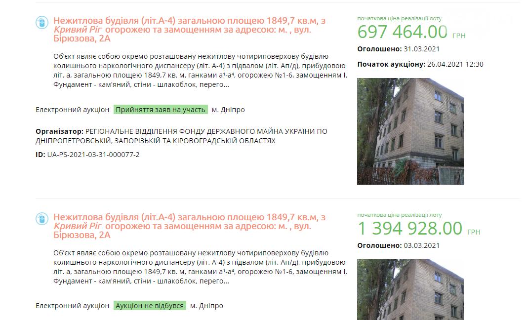 В Кривом Роге снизили стоимость здания бывшего наркодиспансера вдвое, - ФОТО, фото-1