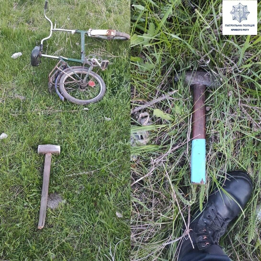 В Кривом Роге искатели металла разбивали бетонные столбы - ФОТО, фото-3