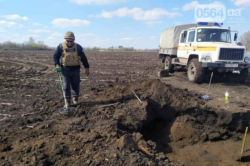 Недалеко от Кривого Рога в поле обнаружили мины - ФОТО, фото-2