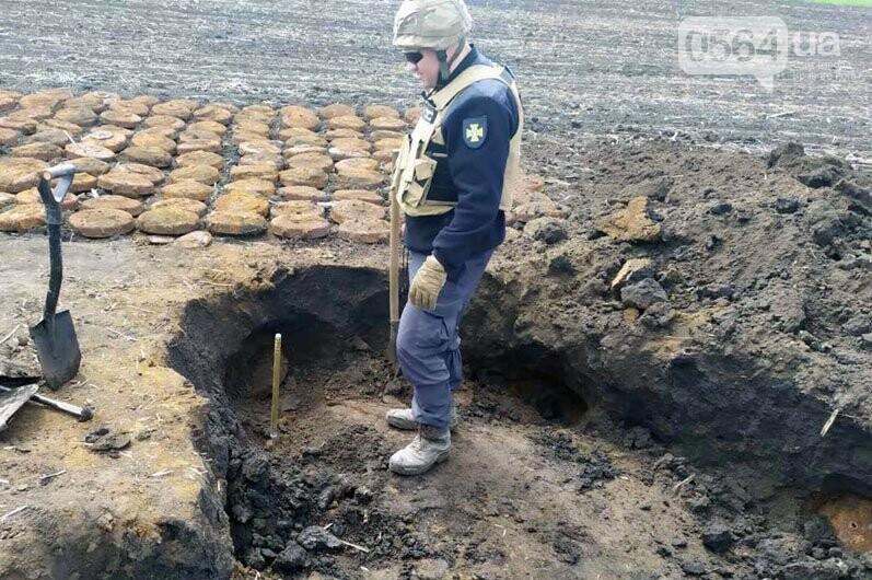 Недалеко от Кривого Рога в поле обнаружили мины - ФОТО, фото-4