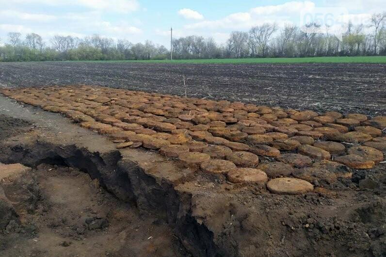 Недалеко от Кривого Рога в поле обнаружили мины - ФОТО, фото-5