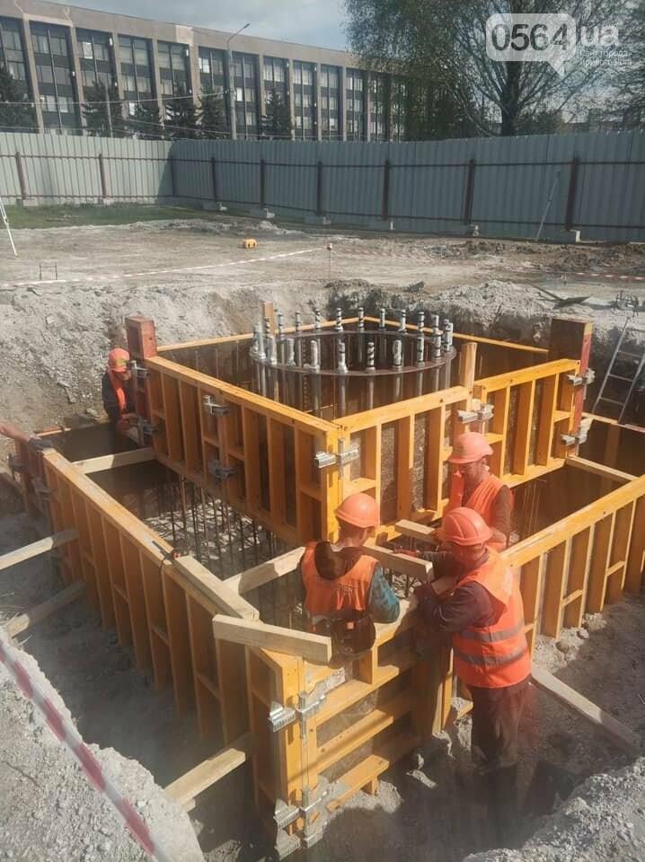Как проходит строительство 72-метрового флагштока в Кривом Роге, - ФОТО , фото-1