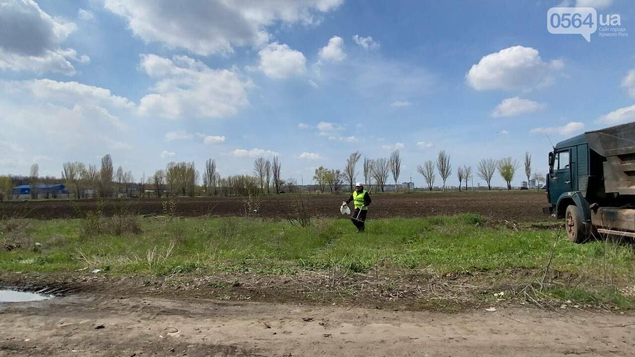 На криворожских кладбищах накануне поминальных дней в усиленном режиме работает спецтехника, - ФОТО, ВИДЕО , фото-46