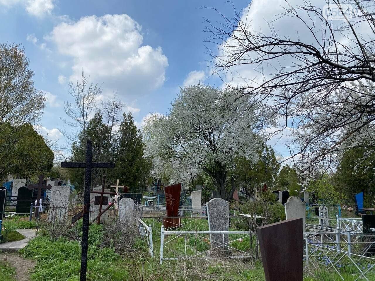 На криворожских кладбищах накануне поминальных дней в усиленном режиме работает спецтехника, - ФОТО, ВИДЕО , фото-15