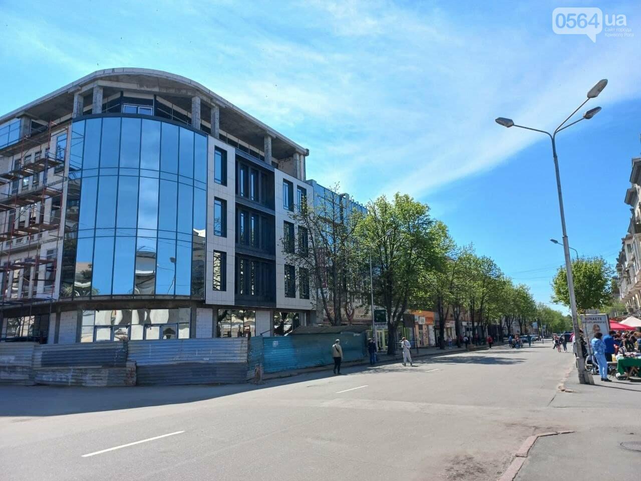 """Новый """"гранд-отель""""  в Кривом Роге попытались гармонизировать с пространством исторического проспекта, - ФОТО, фото-6"""