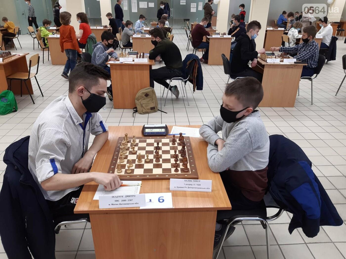 Юные шахматисты из Кривого Рога заняли 7 и 8 место на Чемпионате Украины, - ФОТО, фото-3