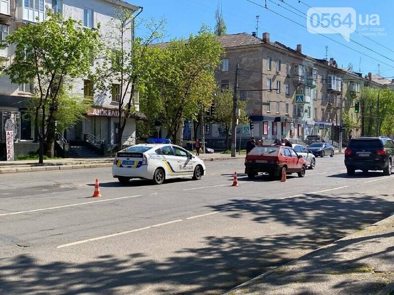 В центре Кривого Рога не поделили дорогу две легковушки, - ФОТО, фото-15