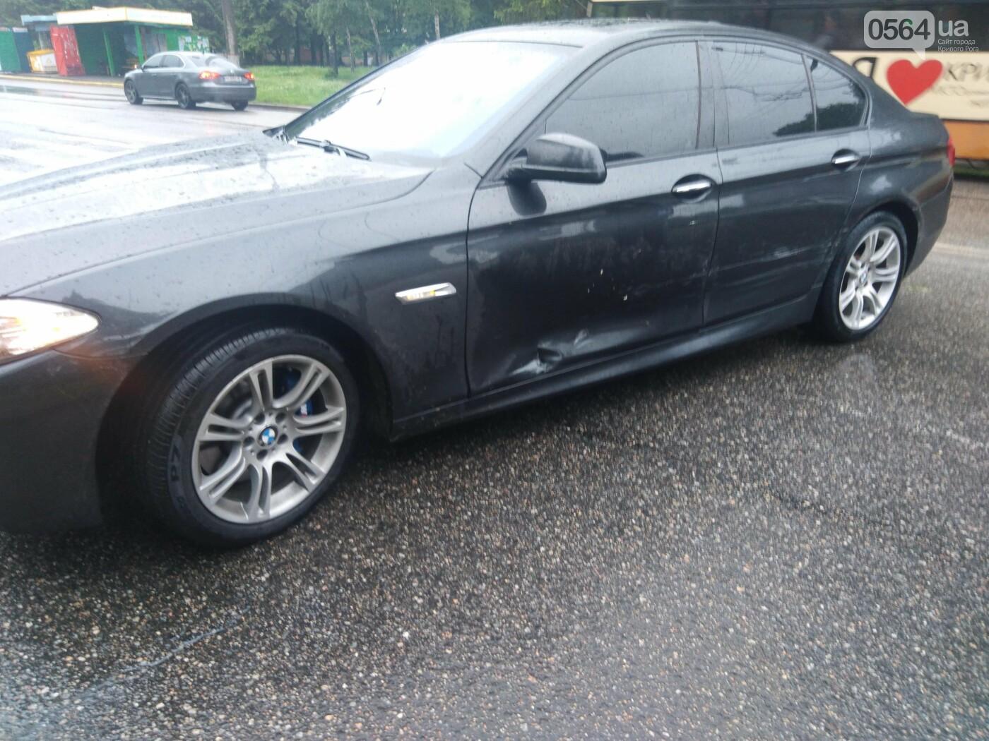 В Кривом Роге столкнулись BMW и Volkswagen, - ФОТО, фото-1