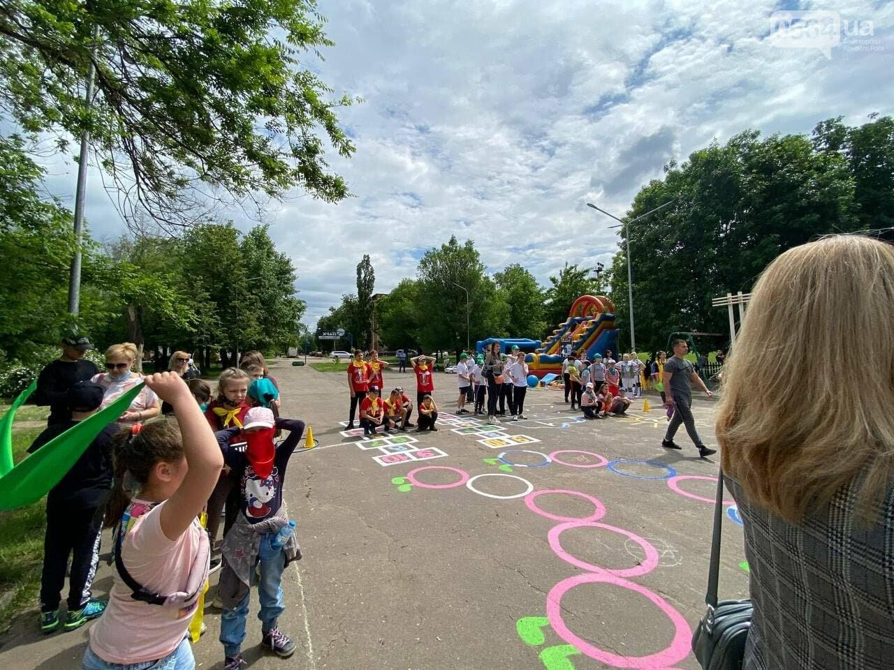 В Кривом Роге для детей провели спартакиаду, - ФОТО, ВИДЕО  , фото-62