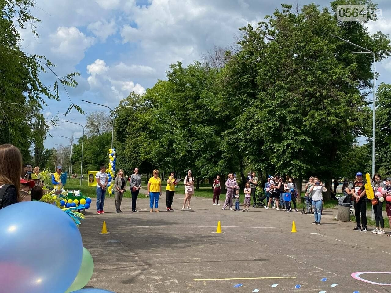 В Кривом Роге для детей провели спартакиаду, - ФОТО, ВИДЕО  , фото-34