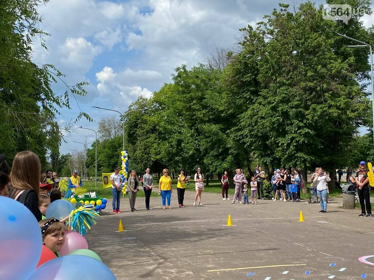 В Кривом Роге для детей провели спартакиаду, - ФОТО, ВИДЕО  , фото-33