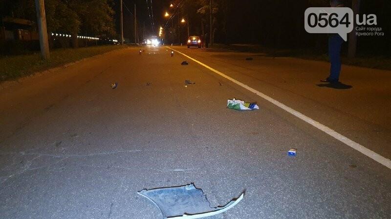 Ночью в Кривом Роге таксист сбил пешехода, - ФОТО, фото-3