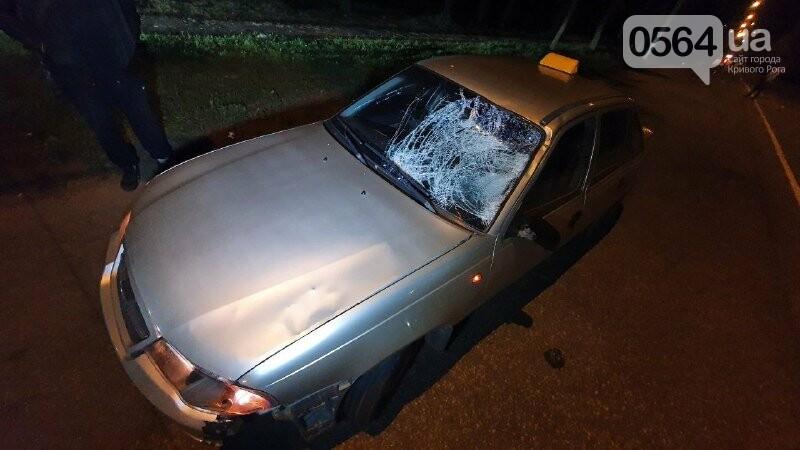 Ночью в Кривом Роге таксист сбил пешехода, - ФОТО, фото-4
