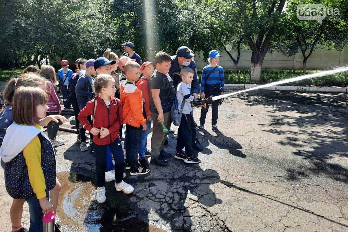 У криворожских спасателей с экскурсией побывали дети, - ФОТО, фото-1