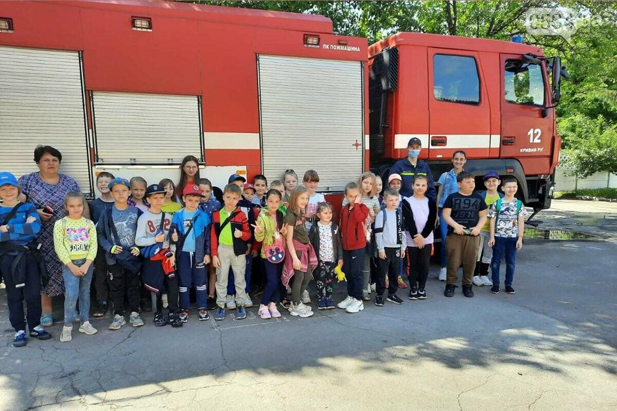 У криворожских спасателей с экскурсией побывали дети, - ФОТО, фото-2