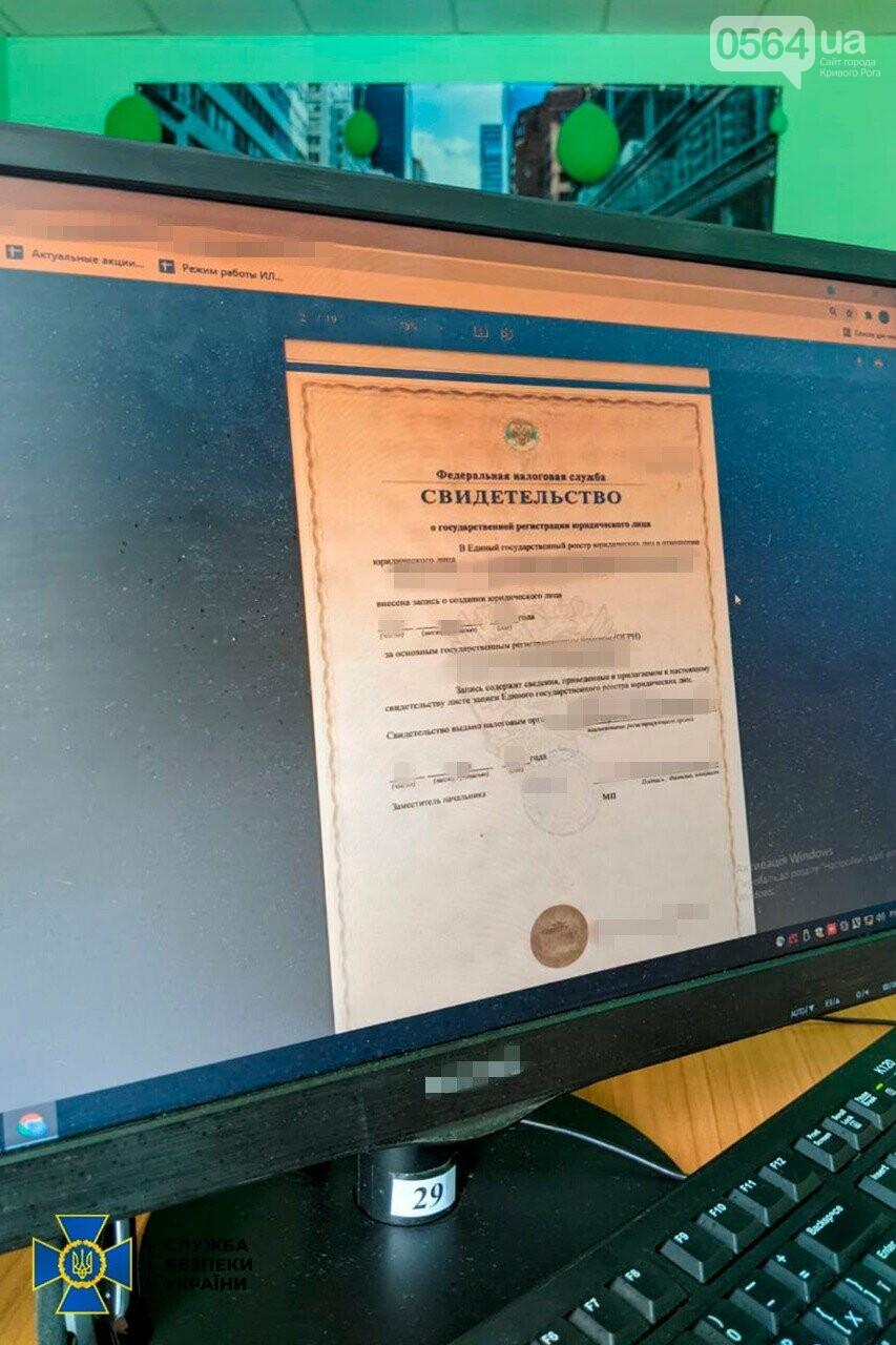 СБУ блокировала в Кривом Роге деятельность сall-центров, предоставляющих услуги компаниям страны-агрессора, - ФОТО , фото-1