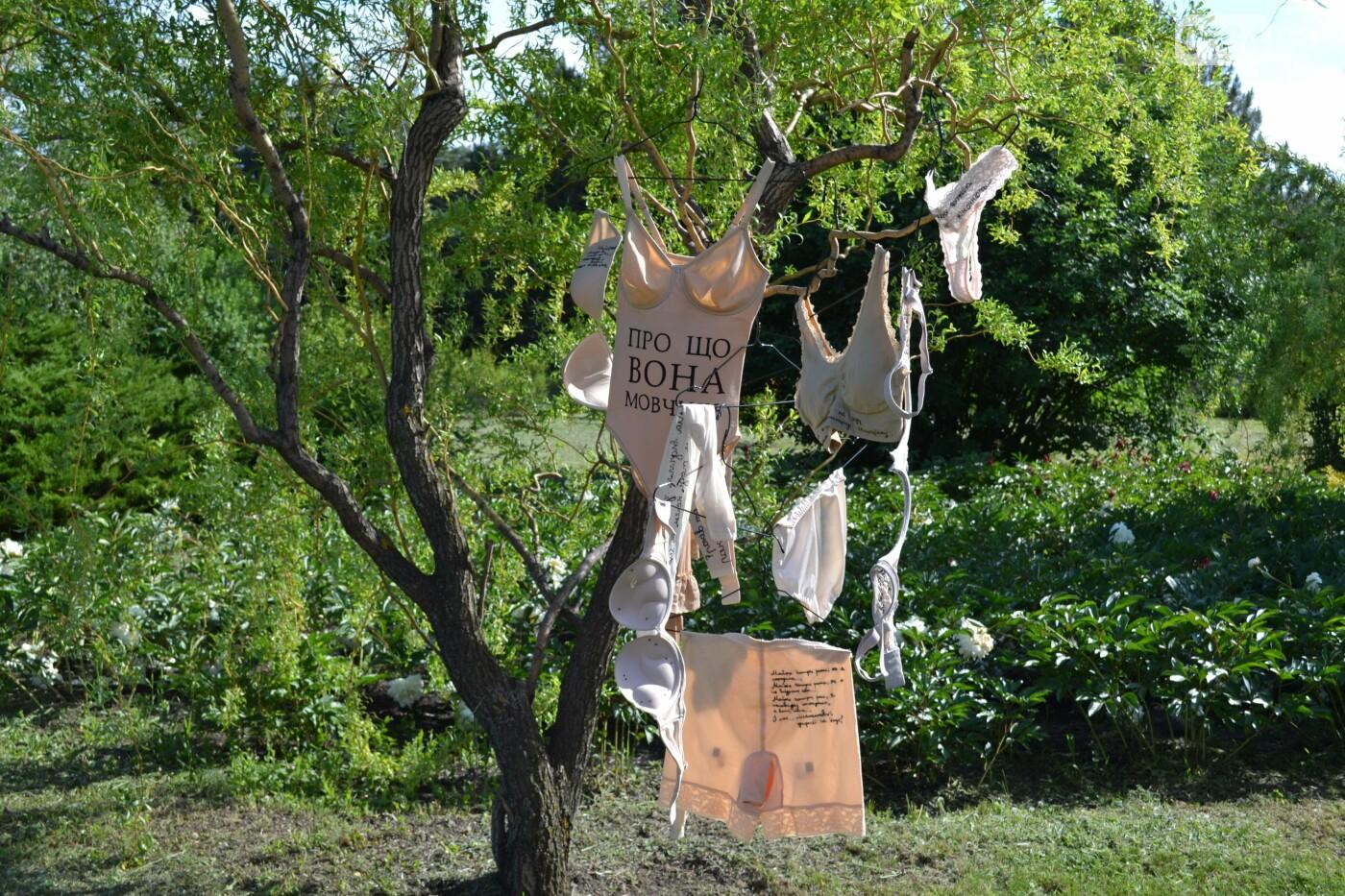 О чем она молчит: в Криворожском ботаническом саду стартовал «женский»  проект, - ФОТО, ВИДЕО, фото-23