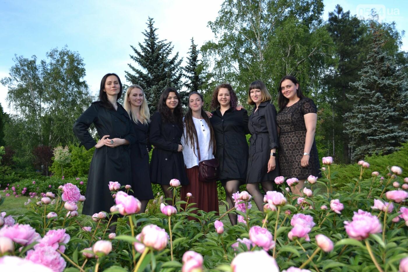 О чем она молчит: в Криворожском ботаническом саду стартовал «женский»  проект, - ФОТО, ВИДЕО, фото-26