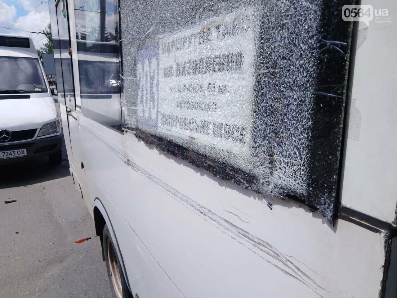 В Кривом Роге столкнулись две маршрутки, - ФОТО, фото-9