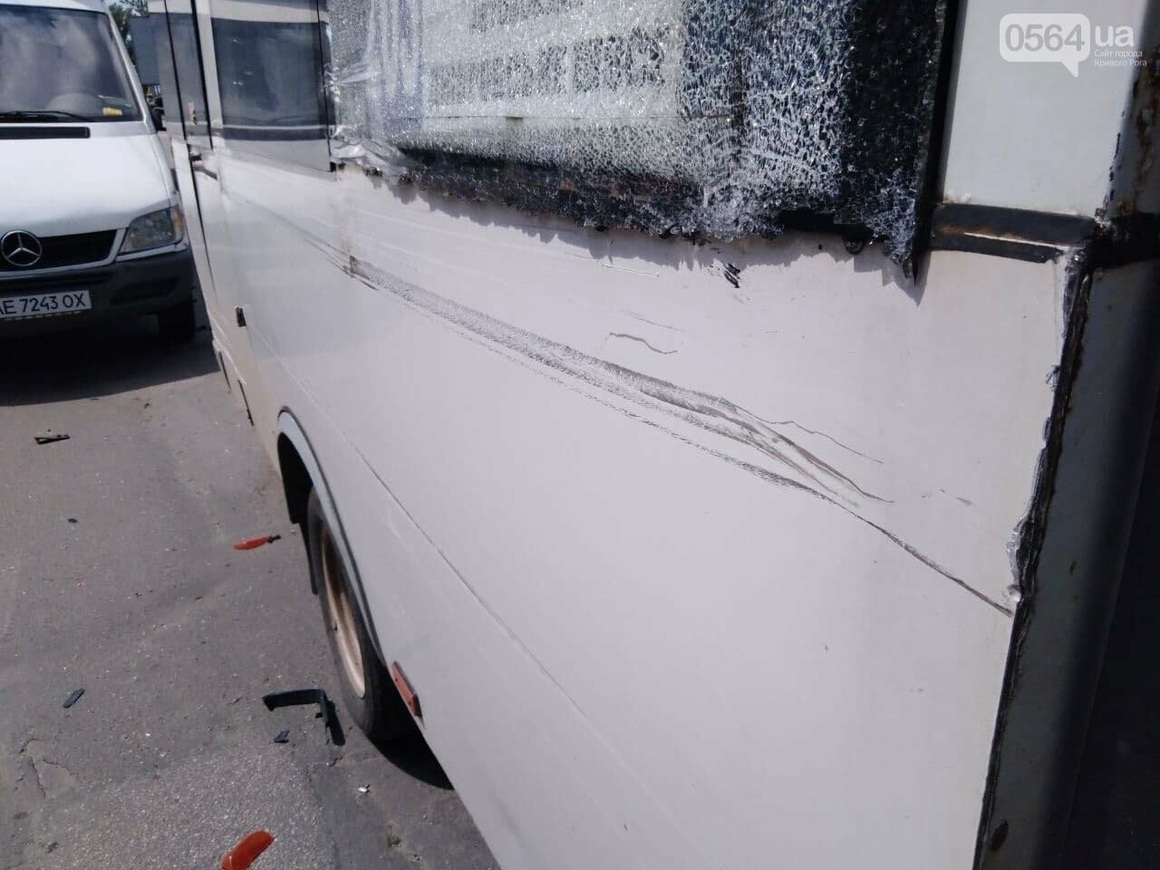 В Кривом Роге столкнулись две маршрутки, - ФОТО, фото-8