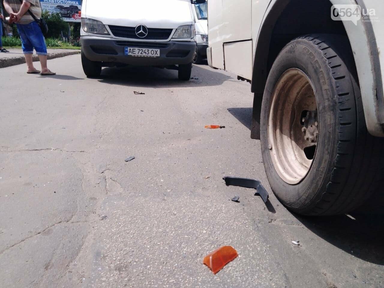 В Кривом Роге столкнулись две маршрутки, - ФОТО, фото-7