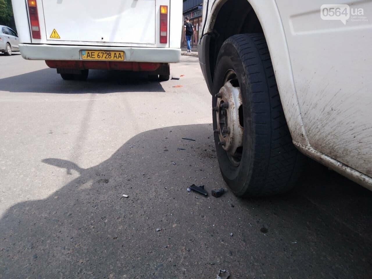 В Кривом Роге столкнулись две маршрутки, - ФОТО, фото-3