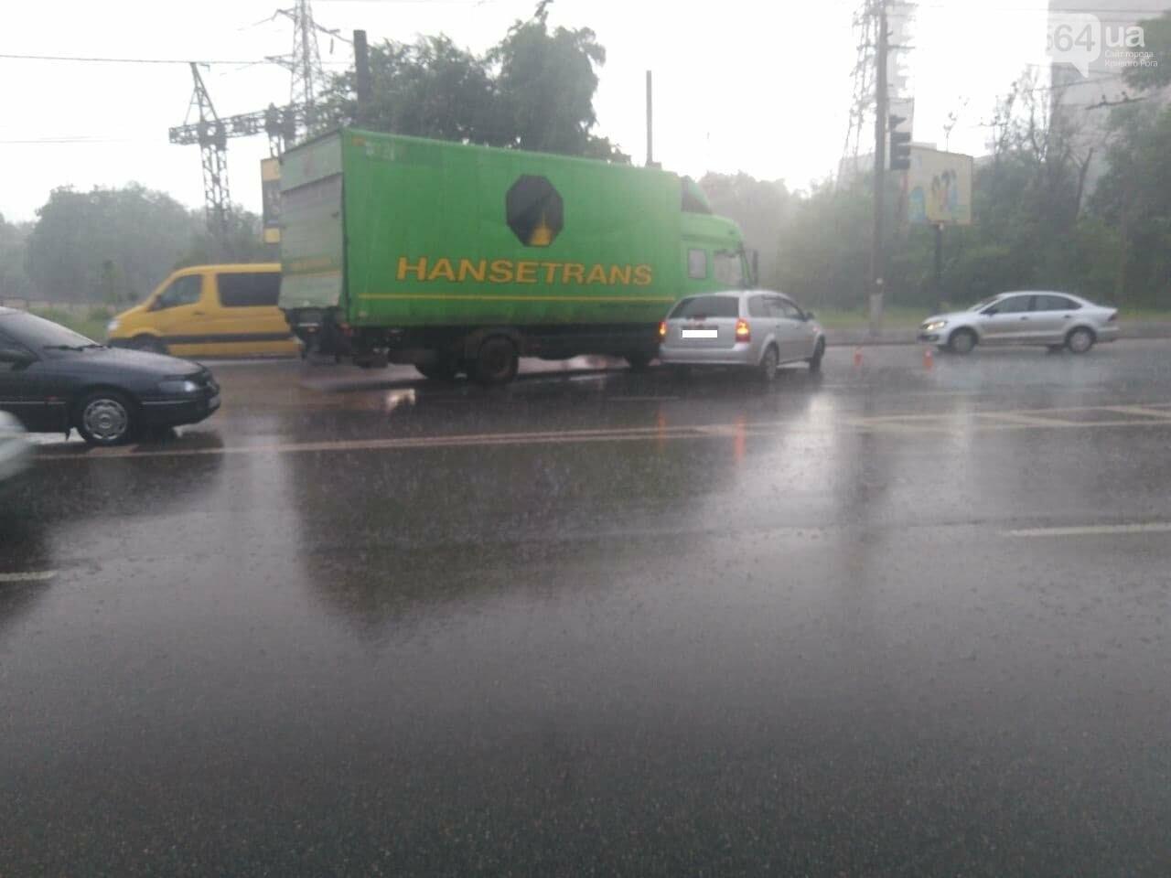 """На """"свадебном перекрёстке"""" в Кривом Роге столкнулись Mercedes и Chevrolet, - ФОТО, фото-4"""
