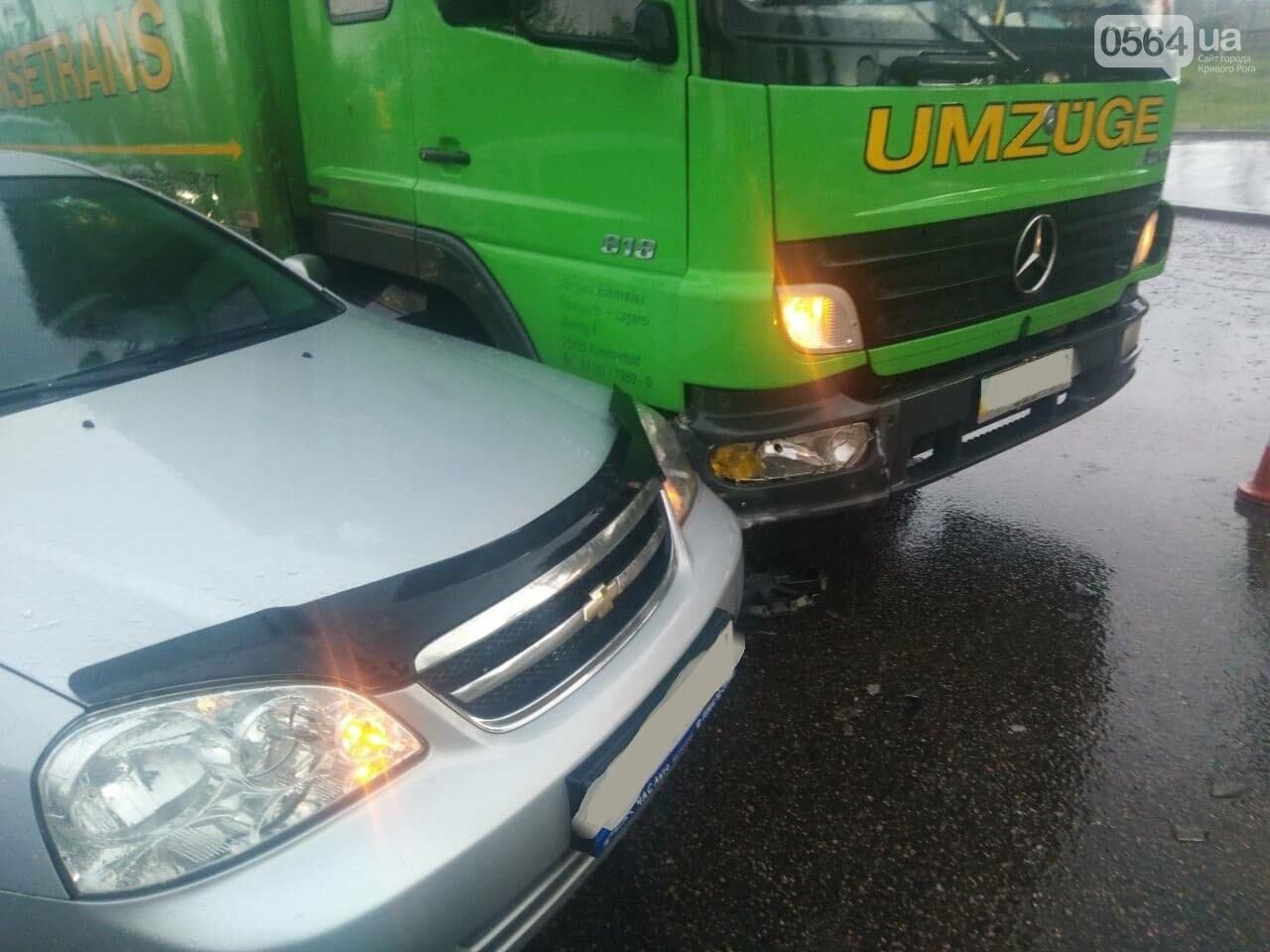 """На """"свадебном перекрёстке"""" в Кривом Роге столкнулись Mercedes и Chevrolet, - ФОТО, фото-8"""