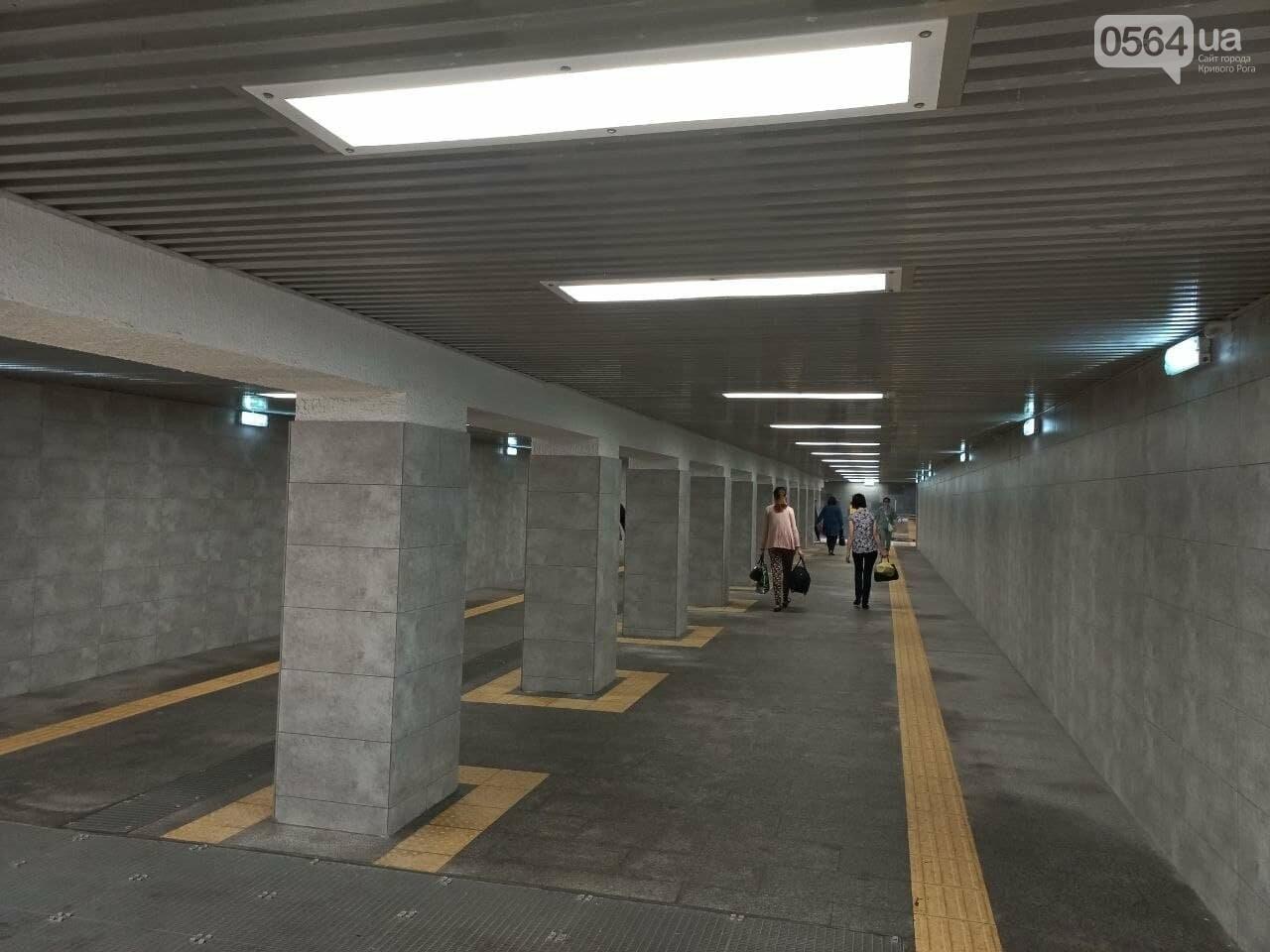 Возле Центрального рынка в Кривом Роге закрыли наземный переход и открыли подземный, - ФОТО, фото-11