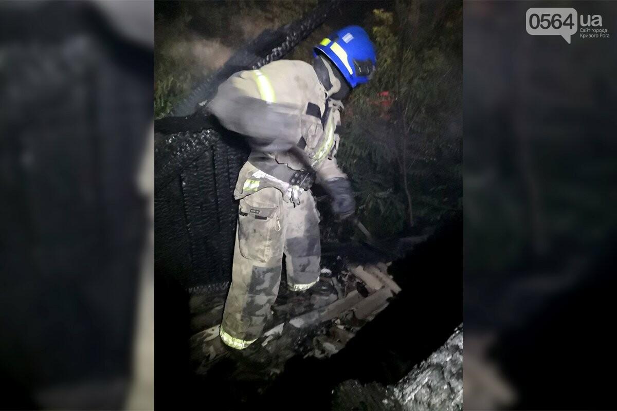 Ночью в Кривом Роге загорелось заброшенное здание, - ФОТО, фото-2