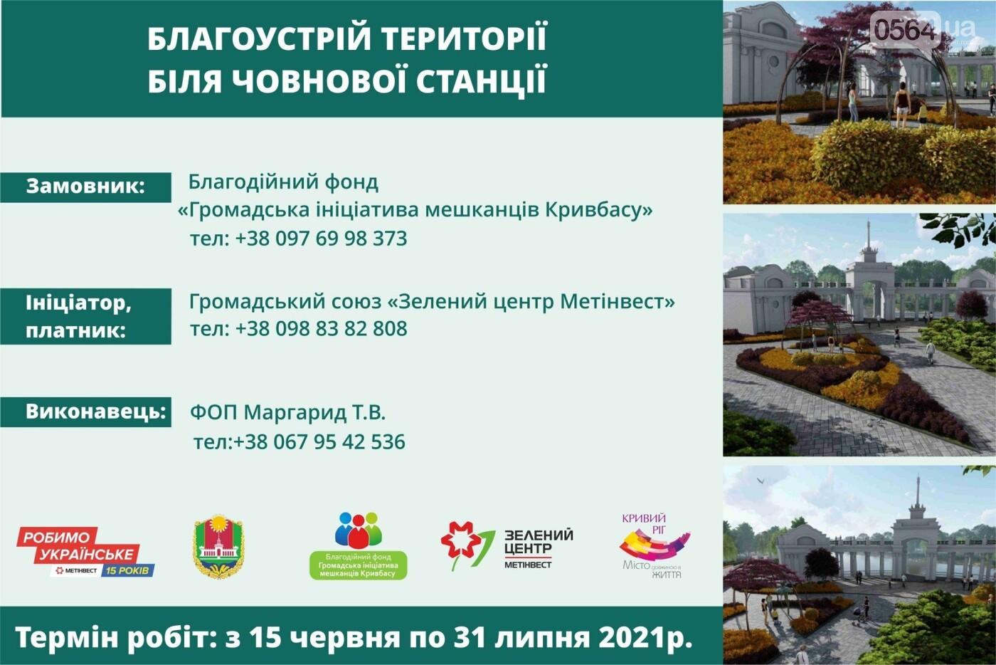 Нова зона відпочинку у Кривому Розі: Зелений центр Метінвест допомагає облаштувати парк ім. Ф. Мершавцева, фото-5